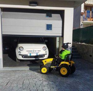 Abete 2.0 sezionali garage BBG